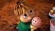 Theodore with Ice Cream