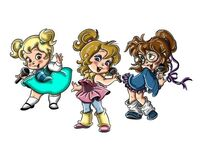 The 80's Chipettes