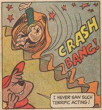 Alvin And The Burglars Scene Illustration
