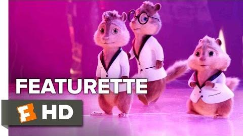 Alvin and the Chipmunks The Road Chip Featurette - Cue the Chipmunks (2015) HD