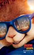 Alvin and the Chipmunks The Road Chip Character Poster 02