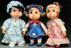 The Chipettes alternate outfits