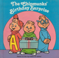 The Chipmunks Birthday Surprise Book Cover.png
