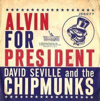 Alvin For President Single Cover