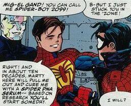 Spider-Boy 2099 (Mig-El Grand) UnMasked