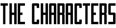 Characterbanner