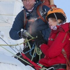 Scott &amp; Blair in the French Alps during <a href=