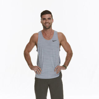 Logan's full body photo for <i>The Amazing Race</i>.
