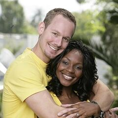 An alternate promotional photo of Brian &amp; Ericka for <i>The Amazing Race</i>.