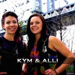 Kym & Alli's opening pose