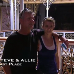 Steve & Allie were eliminated from the race in 6th Place.