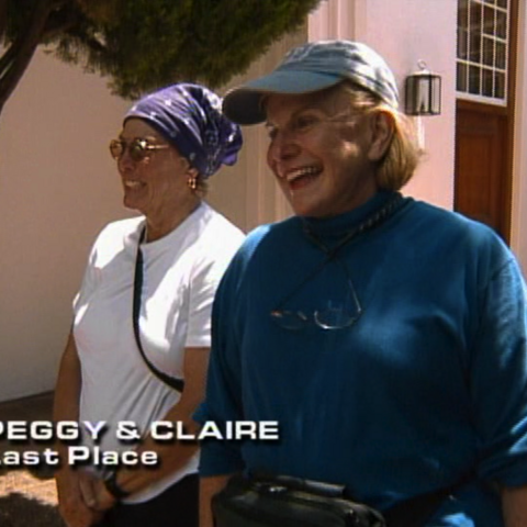 Peggy & Claire were eliminated from the race in 9th place.