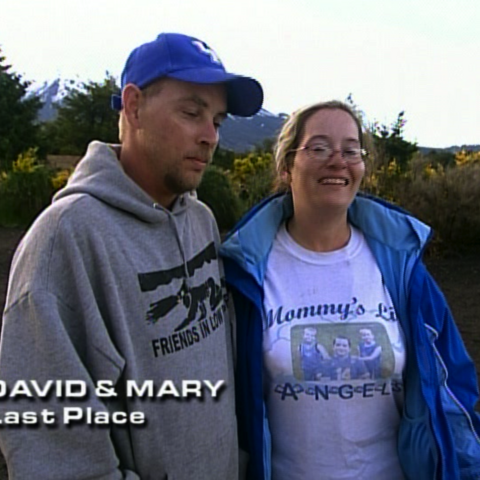 David & Mary were eliminated from the race in 9th Place.