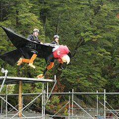 Steve &amp; Allie doing the <i>Condor Consternation</i> <a href=