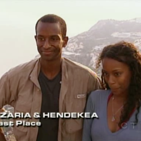Azaria & Hendekea were eliminated from the race in 6th Place unable to overcome a ticketing error.