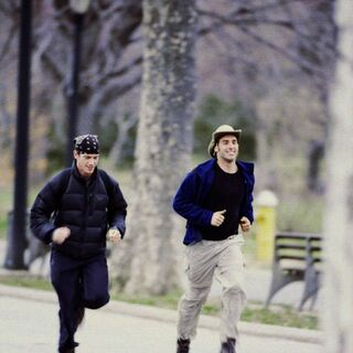 Rob &amp; Brennan running to the <a href=