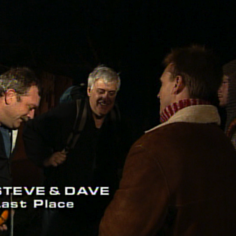 Steve & Dave were eliminated from the race in 8th place.