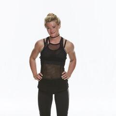 Olive's alternate promotional photo for <i>The Amazing Race</i>.