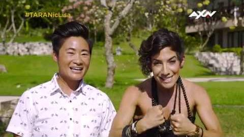 The Amazing Race Asia 5 - Racers Reflect Nic & Lisa Part 1