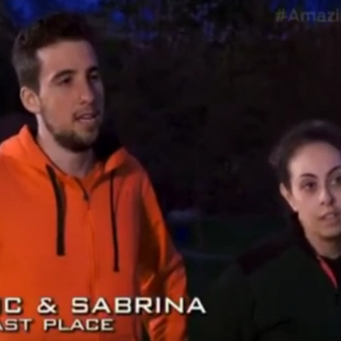 Nic & Sabrina were eliminated from the race in 8th place.
