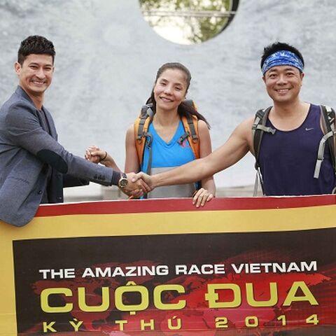 |Kiwi Ngô Mai Trang & Đỗ Hoàng Dương were eliminated in 4th Place, despite winning 5 legs on the race.