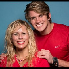 Sheri &amp; Cole's alternate promotional photo for <i>The Amazing Race</i>.