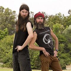Brandon &amp; Adam's alternate promotional photo for <i>The Amazing Race</i>.