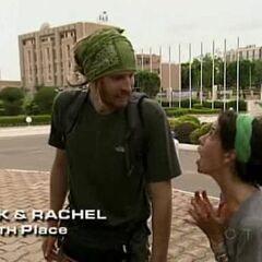 TK & Rachel finish 7th on Leg 4.
