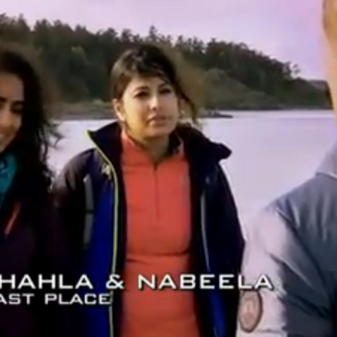 Shahla & Nabeela were eliminated from the race in 11th Place.