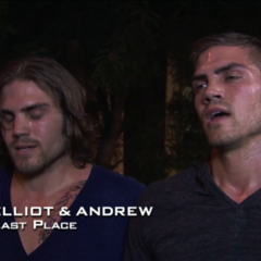 Elliot & Andrew were eliminated from the race in 9th place.