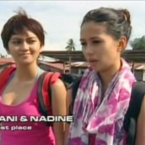 Yani & Nadine were eliminated from the race in 10th Place after a penalty.