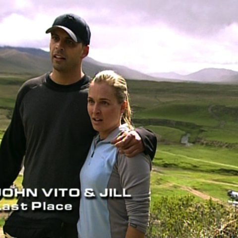 John Vito & Jill were eliminated from the race in 11th Place.
