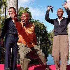 Uchenna &amp; Joyce celebrate winning <i><a href=