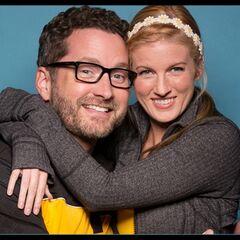 An alternate promotional photo of Burnie &amp; Ashley for <i>The Amazing Race</i>.