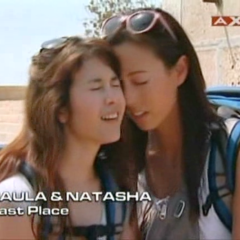 Paula & Natasha were eliminated from the race in 5th place.