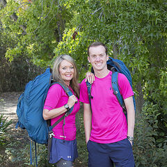 An alternate promotional photo of Denise &amp; James Earl for <i>The Amazing Race</i>.