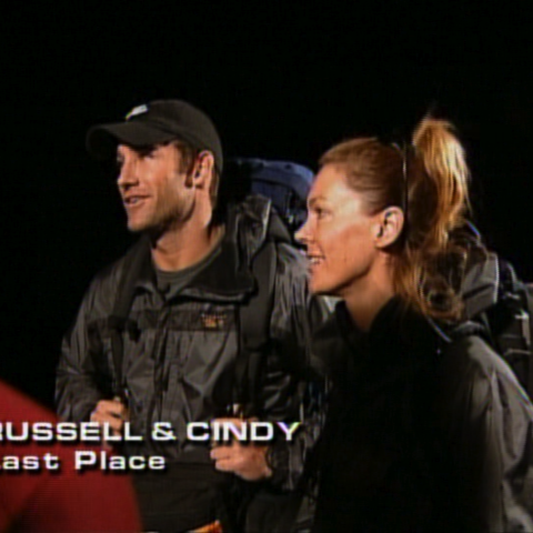 Russell & Cindy were eliminated from the race in 10th place after a train station mix-up.