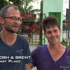 Josh & Brent came in last place.