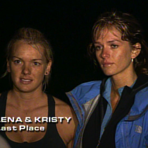 Lena & Kristy were eliminated from the race in 9th place after Lena spent nearly 10 hours  without finding the clue.