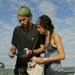 TK & Rachel at the Ship Creek Boat Launch.