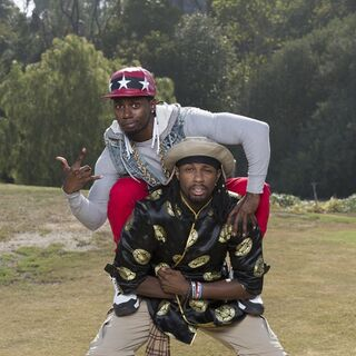 An alternate promotional photo of Ernest &amp; Jin for <i>The Amazing Race</i>.
