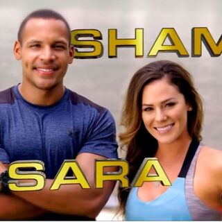 Shamir & Sara's pose in the opening credits.