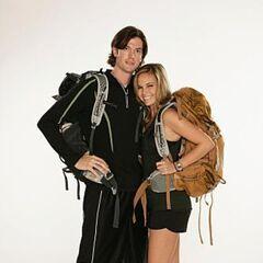 Brent &amp; Caite's alternate promotional photo for <i>The Amazing Race</i>.