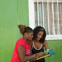 Monique &amp; Shawne reading <a href=