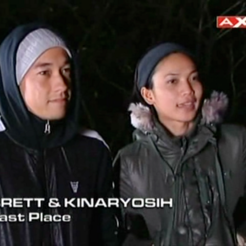 Brett & Kinaryoshi were eliminated from the race in 9th place.