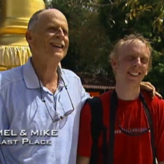 Mel & Mike were eliminated from the race in 6th place.