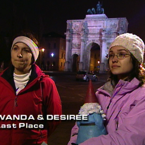 Wanda & Desiree were eliminated from the race in 9th place.
