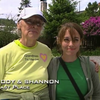 Jody & Shannon were eliminated from the race in 10th Place.