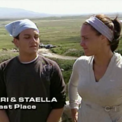Ari & Staella were eliminated from the race in 11th Place after having major difficulties with their donkey.