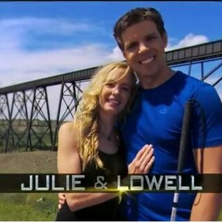 Julie & Lowell's opening credit.